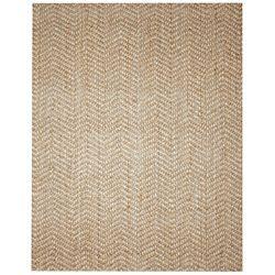 Elysian-Natural-Herringbone-Jute-and-Wool-Rug-8-x-10/$252.99: Beautiful Blend, Natural Herringbone, Beige Shades, Wool Rugs, Jute Rugs, Classic Herringbone, Elysian Natural, Herringbone Patterns, Herringbone Jute