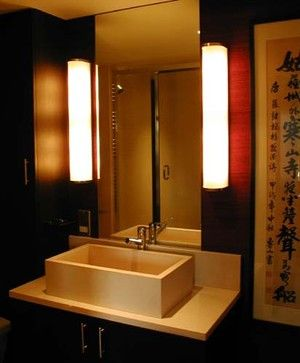 Chinese Themed Bathroom   Let There Be Light.