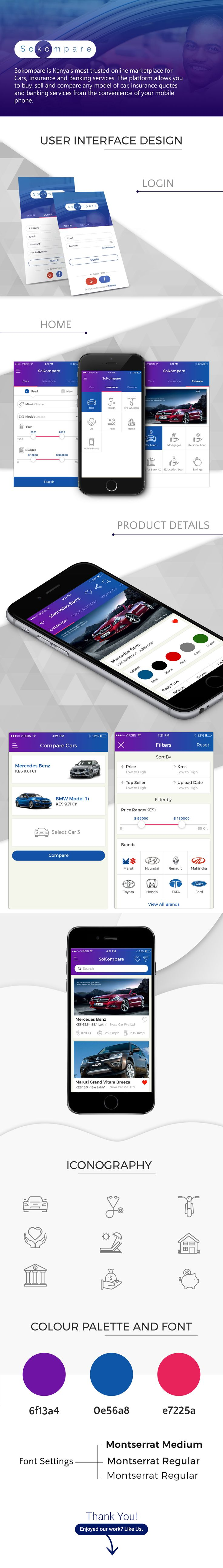 Howdy, Now we are presenting #Sokompareapp which is more trusted online marketplace for Cars, Insurance and Banking services. The platform of sokompare allows you to buy, sell and compare any model of car, insurance quotes and banking services from the convenience of your #mobilephone. So every quotation is now on your finger tips.