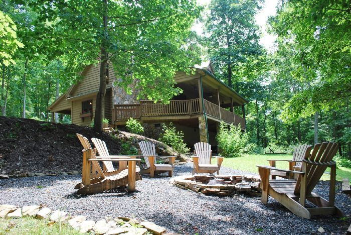 River Raves- Lansing, NC   Riverfront Vacation Rental   NC Mountain Cabin Rental