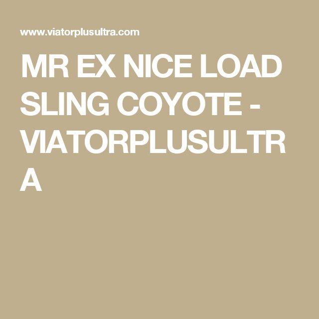 MR EX NICE LOAD SLING COYOTE - VIATORPLUSULTRA