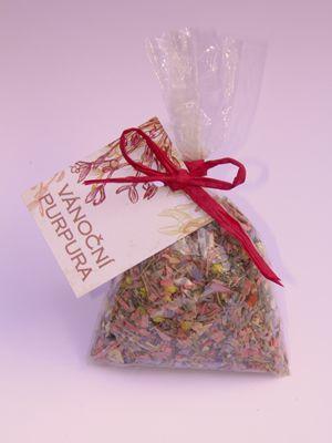 vánoční dárkové balíčky - purpura