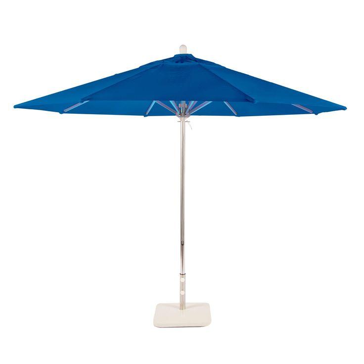 Amauri Outdoor Living Newport Coast Collection Outdoor Patio Umbrella, 11ft Round, with Sunbrella Shade