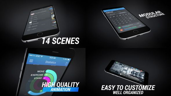 Mobile App Promo (Mobile) #Envato #Videohive #aftereffects