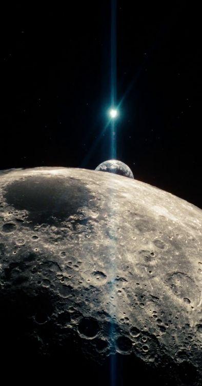 Luna, Tierra y Sol. Chamán.
