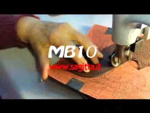 Perforating Machine MB10 CA - Macchina Bucatrice - YouTube