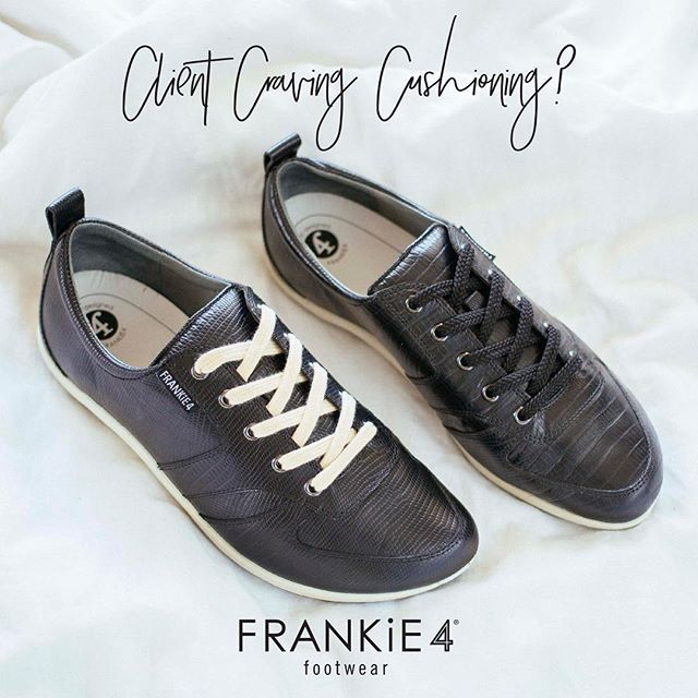 One of the reasons we suffer from sore feet is that we simply weren't designed to walk and stand on hard surfaces for extended periods of time - That's why here at FRANKiE4 we jam-pack our super-stylish shoes with super-soft cushioning!  www.frankie4.com.au/health-professionals/  #welovecushioning #healthprofessionals #podiatristdesignedfrankie4 #physiotherapistdesigned #loveyourfeet