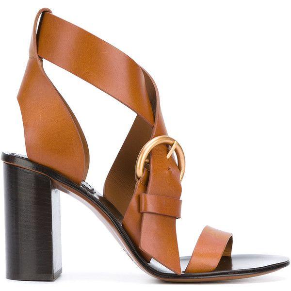 Best 25  Brown strappy high heels ideas on Pinterest | Heel ...