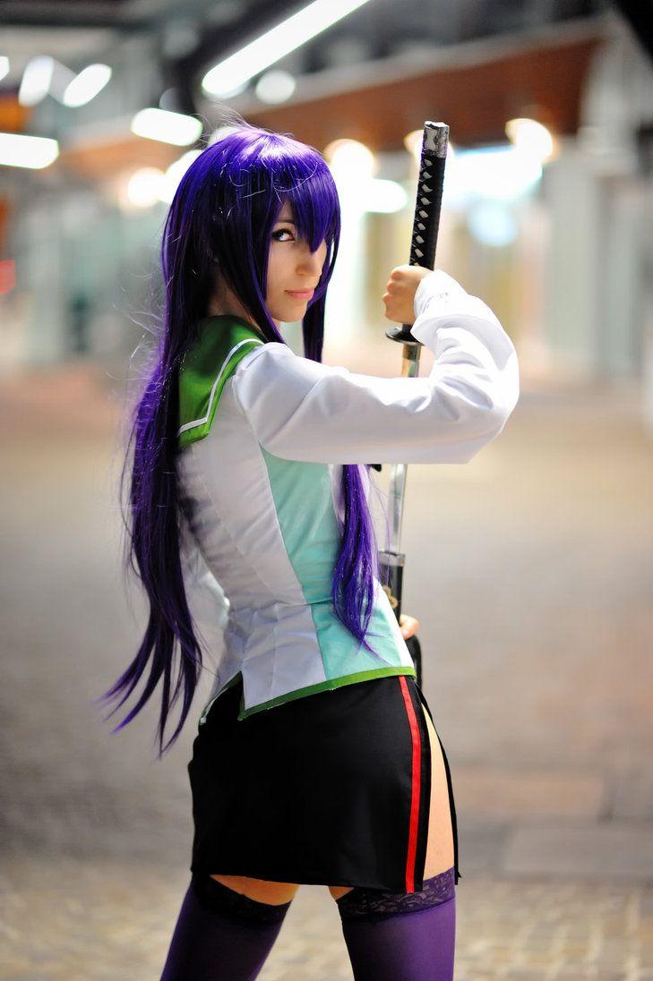 Saeko Busujima cosplay by SandmanAC  Cosplay  High School of the Dead  Pinterest  Cosplay