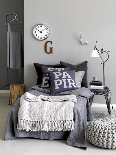 Mooie basic kleuren #tienerkamer | Basic colors teen room