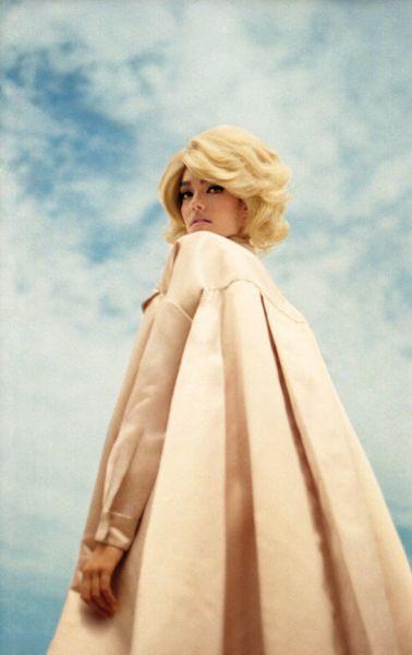 Silhouette- Flare Editorial - Photographer: Petra Collins  Styling: Corey Ng  Hair and makeup: Vittorio, Tresemmé, M.A.C.  Model: Romane Villeneuve, Dulcedo Model Managem...