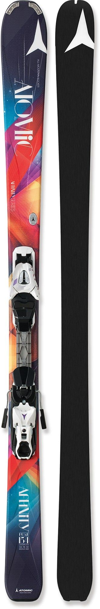 Atomic Female Affinity Pure Skis With Bindings - Women's