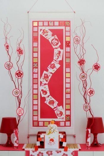 画用紙・和紙・マスキングテープで簡単掛け軸 : 窪田千紘フォトスタイリングWebマガジン「Klastyling」暮らす+スタイリング