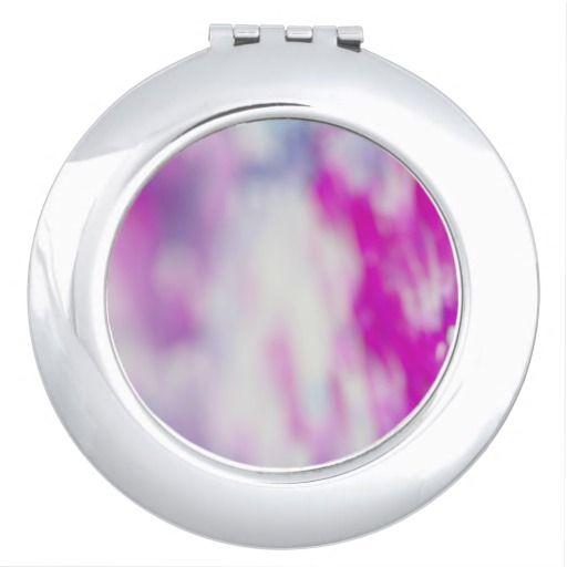 Designers rounded Mirror : Purple
