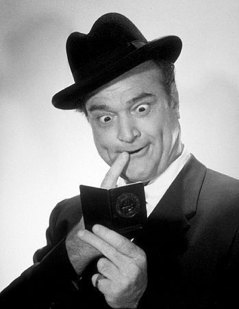 One of the comedians that I loved as a child, Red Skelton--and he was from my hometown.