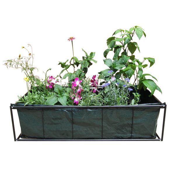 Viagrow  In Plastic Tomato Raised Garden Bed Kit Planter