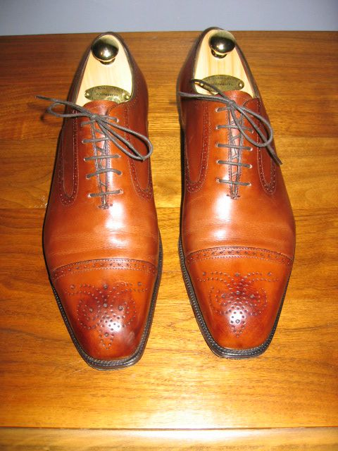 Rye in Burnt Pine Antique on the 888 Last.