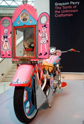 The Vintagent: GRAYSON PERRY AT THE BRITISH MUSEUM