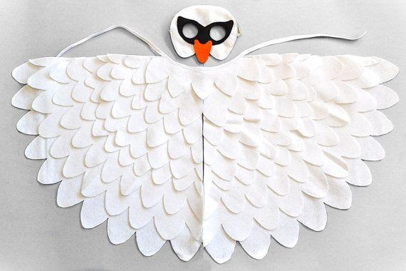 Disfraz de cisne para niños máscara de pájaro por BHBKidstyle