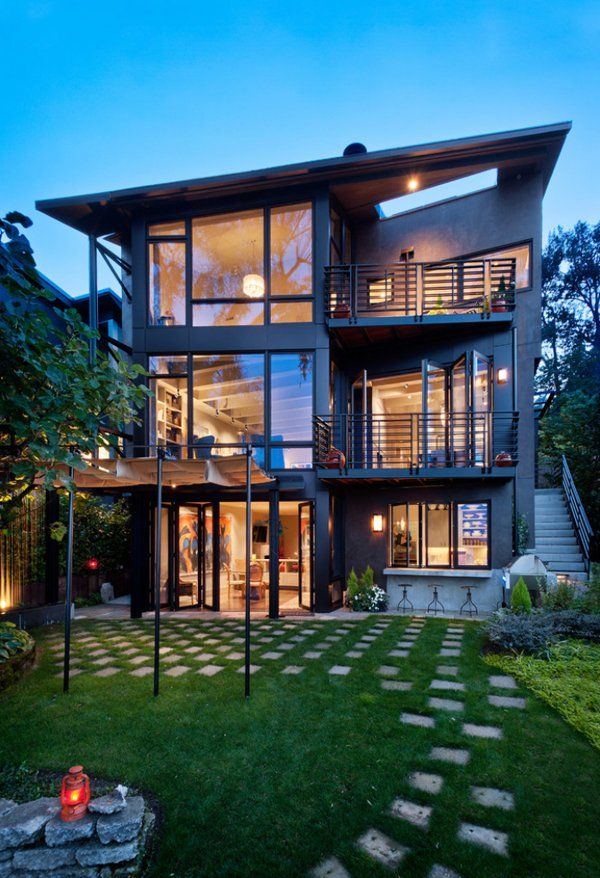 22 Modern Residences With Classy Exterior Designs: Duplex/Fourplex Plans: A Collection Of Ideas To Try About Architecture