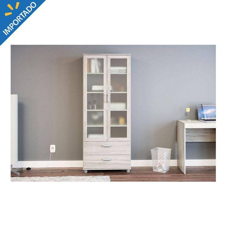 Compra de librero politorno livramento con puertas de for Compra de muebles en linea
