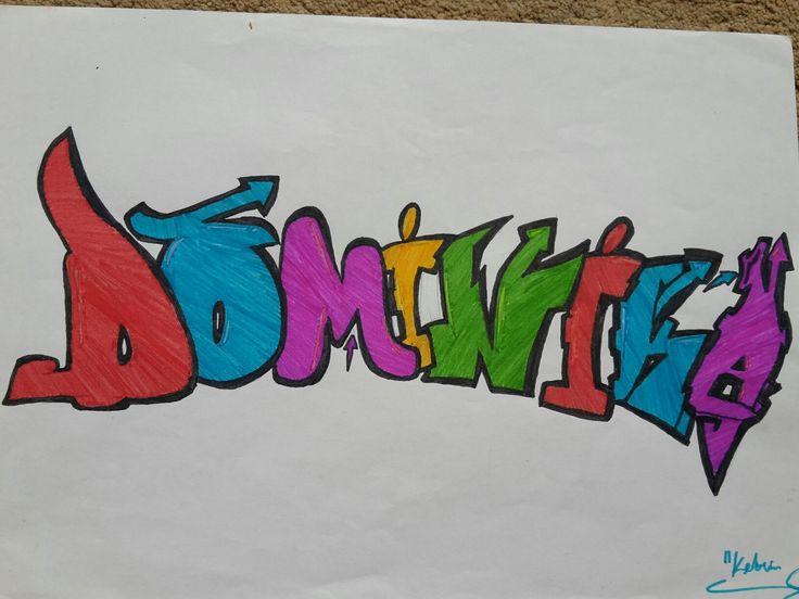 Graffiti Dominika