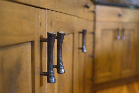 Elegant Kitchen Cabinet Hardware Hand Forged Blacksmithing And Cabinets