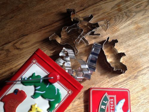 Animal Cookie Cutters. Never Used.