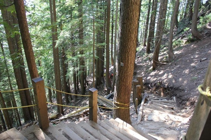 The Grouse Grind, Mother Nature's Staircase