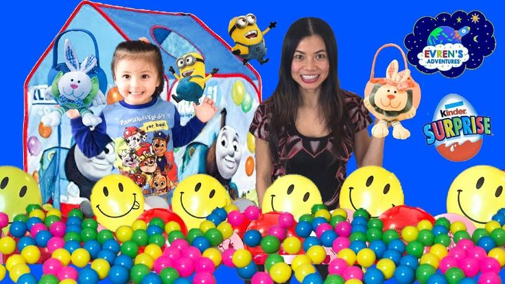 KINDER EASTER EGGS HUNT CHALLENGE! Kid Learning Colours Kinder Surprise Eggs MINIONS Despicable Me 3 Evren Adventures ToysReview. Thanks for joining Evren and Evren's mummy in this challenge hunting game. The winner had the most Kinder surprise eggs Minions Despicable Me 3 surprise toys and get the surprise toy Marvel Avengers blind bag. Great Kid Video for children who love challenges and open kinder eggs Minions Despicable Me 3.