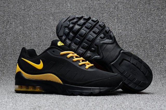innovative design 50e01 7ecfd Mens Nike Air Max 95 OG Kpu Black Gold 624519 009 Shoes Sport swear ...