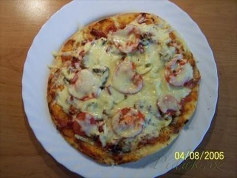 Picture of Recept - Pizza po česko - slovensku