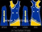 Healong Sport fully sublimation No Moq A Line Netball Dress girl