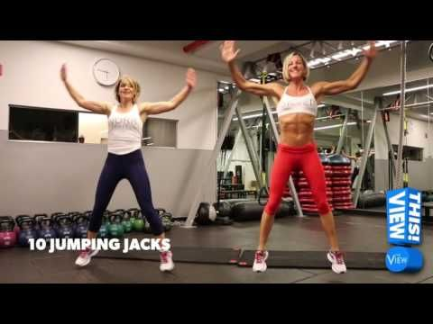 Candace Cameron Bure and Kira Stokes: 10 Ways To Make Your Body Great Again - YouTube