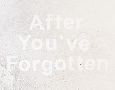 Lettering reversed out of dust using hand-cut letters.