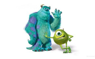 Sulley and Mike - Mosters, Inc.