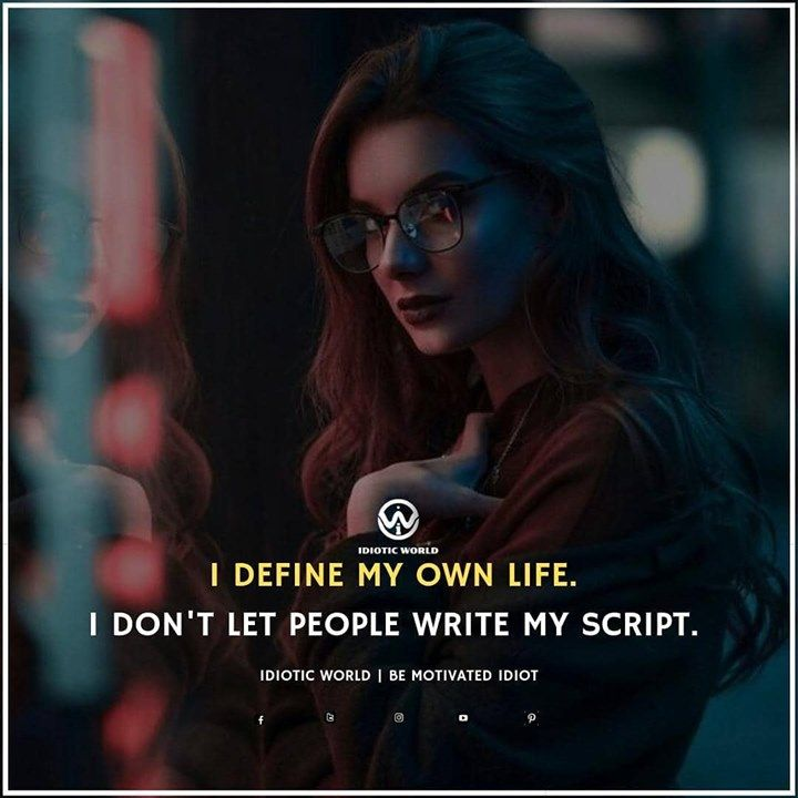 Inspiring Cute Attitude Quotes For Girls Idiotic World Attitude Quotes For Girls Attitude Quotes Girl Quotes