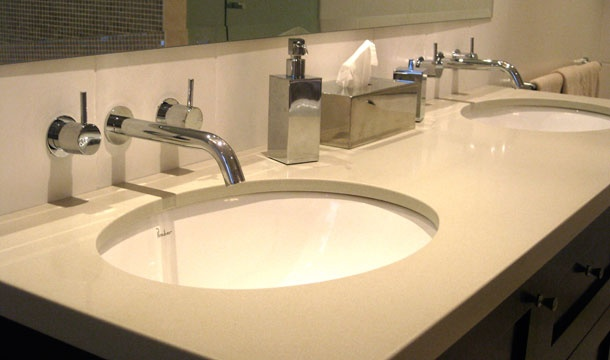 Wall Mounted Taps And Under Counter Basins Very Easy To