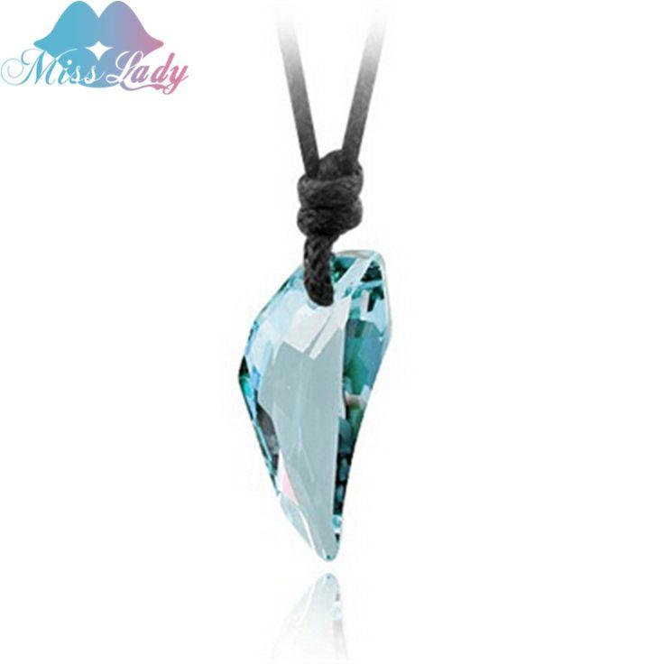 Miss ladyゴールドメッキクリスタルカジュアルスポーティティーン·ウルフペンダントネックレス卸売ファッションジュエリーのため男性mls4401