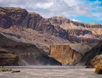 The Edge of Mustang