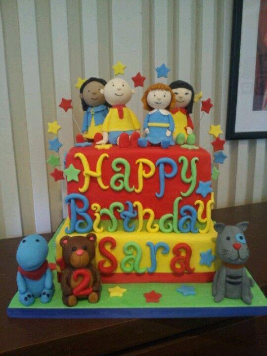 Caillou Birthday Cake Photos