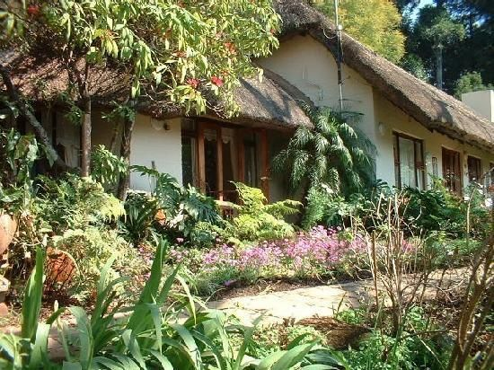 Quaint thatch cottages at Pleasant Places (Nottingham Road, South Africa). See more at www.midlandsmeander.co.za