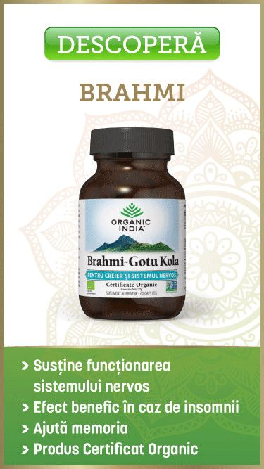 Brahmi~Gotu Kola | Pentru Creier & Sistemul Nervos...