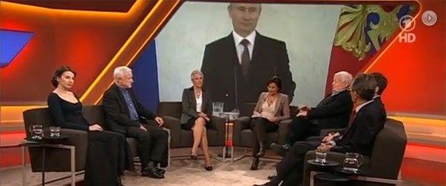 ARD-Propaganda: Maischberger und der Hass gegen Russland