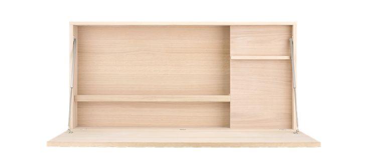 Ny workbox från Bolia. Med ett djup på 19 cm är den suverän i små utrymmen.
