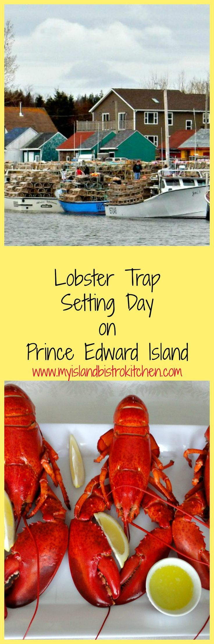 Setting Day heralds the opening of the lobster fishing season on PEI and signals that the first feed of the succulent lobster will follow shortly.