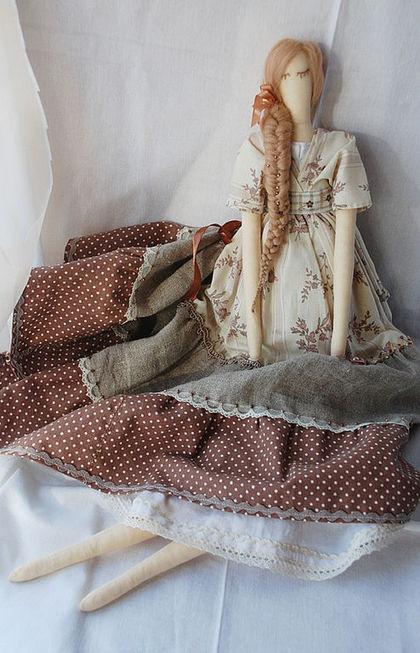 Куклы Тильды ручной работы. Ярмарка Мастеров - ручная работа Забава. Handmade.