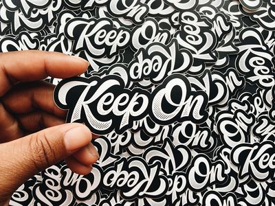 Keep On Stickers