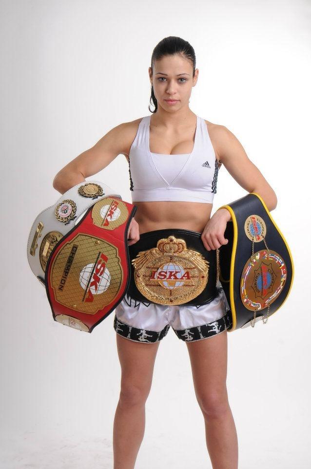 Lena HUNTER OVCHYNNIKOVA | UFC/MMA/Self Defense/Kickboxing ...