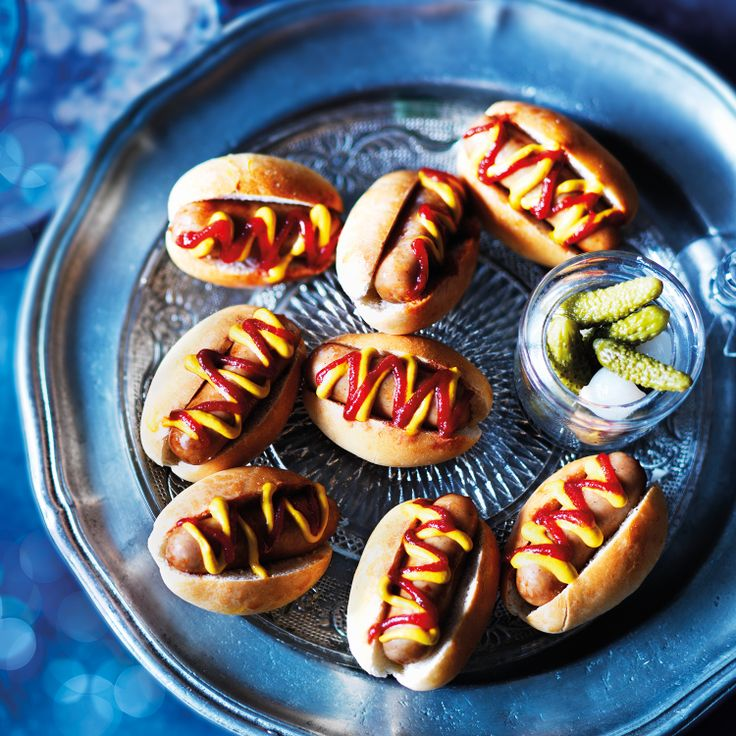 Catering Ideas For Christmas Party Part - 40: Mini Posh Dogs · Mini Hot DogsTea IdeasCatering IdeasChristmas CanapesChristmas  Party ...